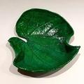 Emerald Green Leaf   Jewellery Bowl