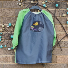 Art smock for 3 - 4 year old - Ninja Turtle