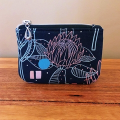 Coin purse - Protea Black