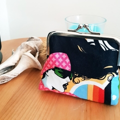 Handmade coin purse // Tattoo // medium size // gift idea