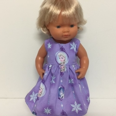 Miniland Dolls Frozen Dress to fit 38cm Dolls