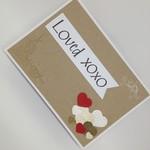 """Loved"" - Anniversary, Love, Valentine's Card"