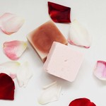 Vanilla Rose Shampoo and Conditioner Bar Set (Large)