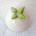 Mini Ceramic Toadstool Planter