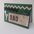 Dad Card - Bottle Green, Tools