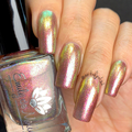 """Nail polish - """"City Of Light"""" A pale nude base with shimmer"""