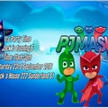 PJ Masks print at home Invitations