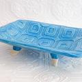 Handmade Textured Ceramic Soap Dish