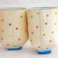 Spotty Yunomi Tea Mug