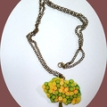 Fruit tree necklace