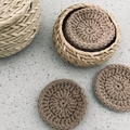 Reusable Crochet Face Scrubbies Set of 3 | Makeup Remover Pads | Facial Rounds
