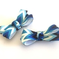 Baby Bow Set, Infant Hair Clips, Clips for Toddlers, Mini Hair Clips, Pigtail