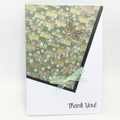 Thank You Card - Angle Cut Japanese Paper