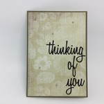 Thinking of You Card - Tapestry Style Print