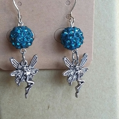 Blue Faires Earrings