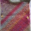 Girl's Diagonal Pullover