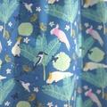 dress - teal Australian cockatoo galah / cotton boho peasant-style / 4 years