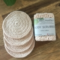 New - Body Scrubbies in Natural