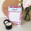 2020 Handmade Monthly Calendar