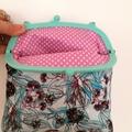 Blue gum blossom & Wrens Handbag
