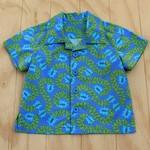Boy's Button up Shirt - Divine Blue - Size 2