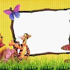 10 x Winnie the Pooh Envelopes