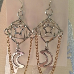 GEOMETRIC SPACE Earrings