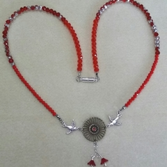 ROCKABILLY RED Necklace