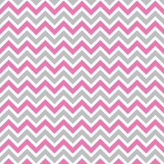 10 x Pink and Grey Chevron Envelopes