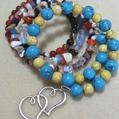 BOHO CHILD ~ CRYSTAL LOVE Bracelet