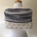 Crochet Cable Cape or Cowl