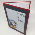 Hugs and Kisses Card  - Love, Valentine