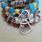 BOHO CHILD ~ CRYSTAL LOVE Bracelet