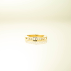 18ct Gold Channel Set Diamond Eternity/Wedding Ring