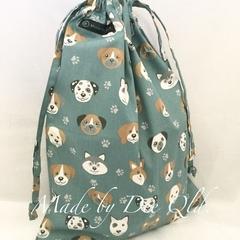 Drawstring Bag: PUPPY PALS