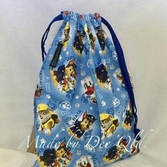 Drawstring Bag: PAW PATROL - Blue