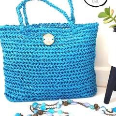 Medium Raffia Bag