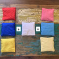 Set of 12 Bean Bags -with primary and secondary colours
