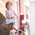 Native Floral Peplum Top and matching sage  shorties girls babies toddler