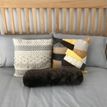 Rustic Patchwork Cushion Cover