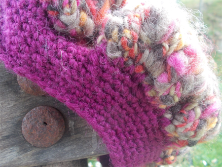 child's crocheted beret, pure wool, multi colours ON SALE!!!