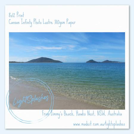 Crystal Clear Waters, Jimmy's Beach, Hawks Nest