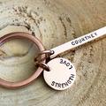 Godmother Keyring, Gift For Godmother, Name Keyring, Inspiration Keyring