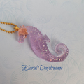 Resin Seahorse Necklace