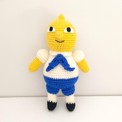 Adventure Time, Lemonsweets crochet plush doll, lemon toy, christmas gift,