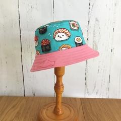 Baby bucket hat - Happy Sushi - 6-12 months
