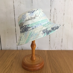 Bucket Hat - Cool Blues - 3-4 years