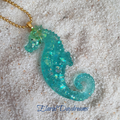 Resin Seahorse Necklace
