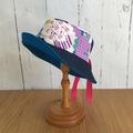 Sun hat - Hana Blossoms - 3-5 yrs