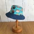 Toddler bucket hat - Happy Sushi - 1 yr